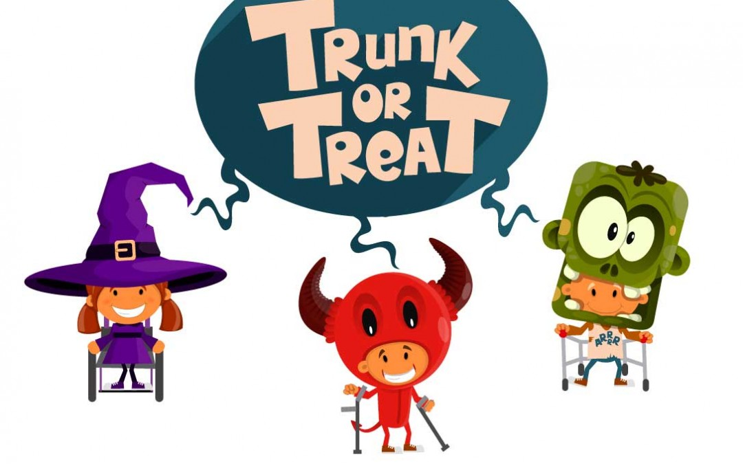 Trunk Or Treat for Families with Mobility Challenges